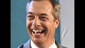 Nigel Farage pitää viimeisen puheensa euroopan parlamentissa. Puhemies kimpaantuu lopussa