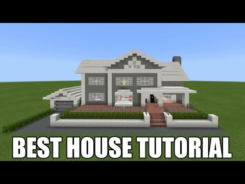 Minecraft Tutorial: How To Make A Suburban House #18 Best House 2018