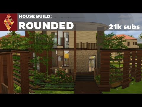 The Sims 4 - House Build - Rounded
