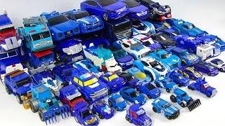 Blue Color Transformers Tobot Hello Carbot MiniForce 52 Vehicles Car Robots Toys