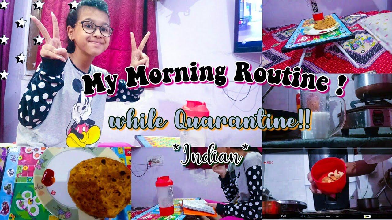 My morning routine while being quarantined ||*Indian*|| Pratha Tanwar