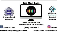 The Mac Labs Yuma Area IT Services and Repairs