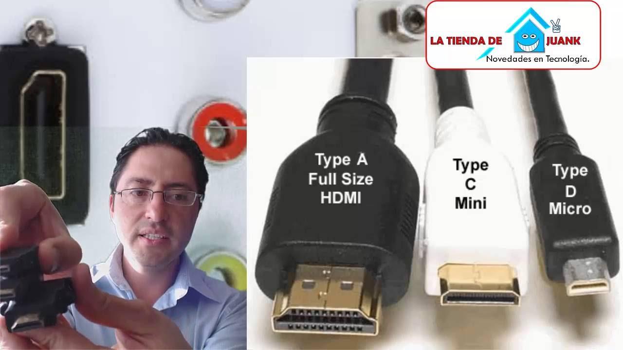 Cual Es La Diferencia Entre Video Mini Hdmi Vs Micro Vs