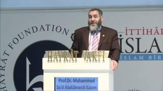 Dr. Muhammed Saad Kasim, 2.Oturum, 5.Bediüzzaman ve Risale-i Nur Sempozyumu