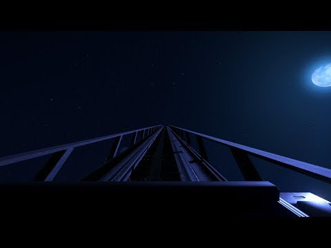 Planet Coaster: The Epic Wooden RollerCoaster POV Night