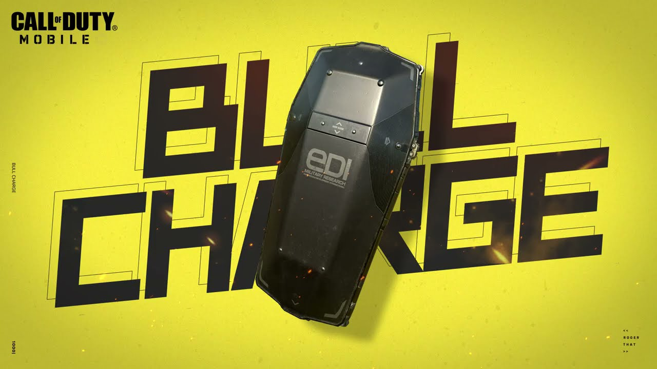 New Operator Skill - Bull Charge   Call of Duty: Mobile - Garena