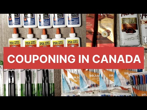 COUPONING IN CANADA   FREE SCHOOL SUPPLIES AT WALMART (vlog#54)