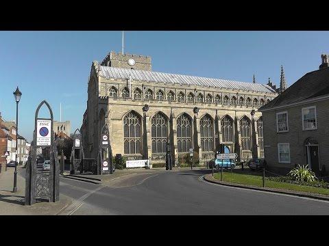 St Mary's Church, Bury St Edmunds, Suffolk.