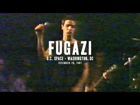 Fugazi - Live at d.c. space - 1987 (full set)