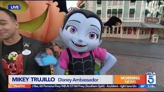 Disney's Vampirina on How Disneyland has Transformed for Halloween