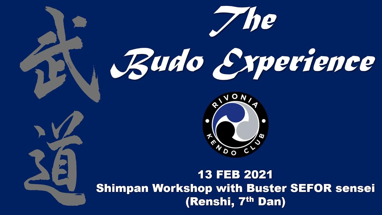 Shimpan Workshop with Buster SEFOR Sensei