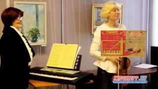 Три красавицы-художницы открыли выставку в Кингисеппе KINGISEPP.RU