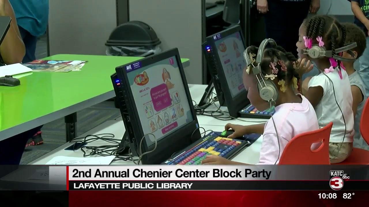 Chenier center block party