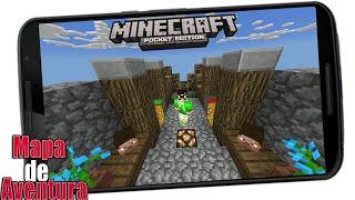 • Mapa De Aventura • Minecraft Pocket Edition 0.15.2•