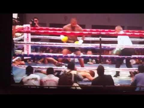 Tyrone spong WBC Latino Heavyweight title