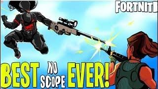 GET NO SCOPED| Fortnite Battle Royale