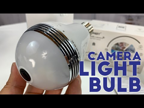 Hidden Security Camera LED Light Bulb by JBonest Review