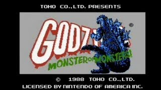 Godzilla NES Full Soundtrack