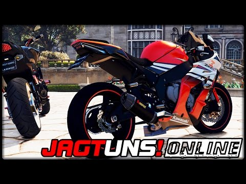 GTA 5 JAGT UNS! #05  ONLINE  Kawasaki ZX10R  Deutsch  Grand Theft Auto 5 CHASE US