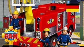 Feuerwehrmann Sam Deutsch Neue Folgen | Norman Man und Atomic Boy -  Zusammenstellung 🚒Kinderfilme