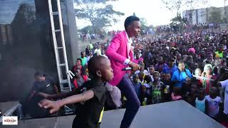 KASOLO MAKES HISTORY AT MR SEED'S EVENT IN HURUMA. DIAL *811*401# TO GET KYAA