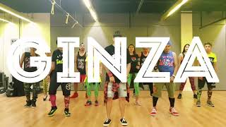 GINZA by J.Balvin | Zumba | Reggaeton | Kramer Pastrana