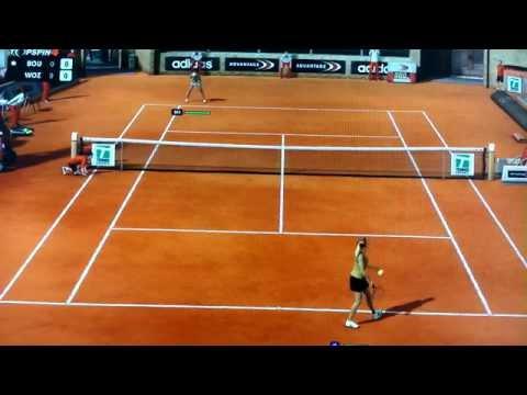 Top Spin 4 - Rome - Bouchard vs Wozniacki