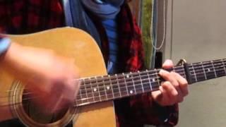 Princess of china - guitar cover (acoustic)