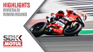 Enjoy the sensational highlights from opening day at #RiminiWorldSBK 🇮🇹