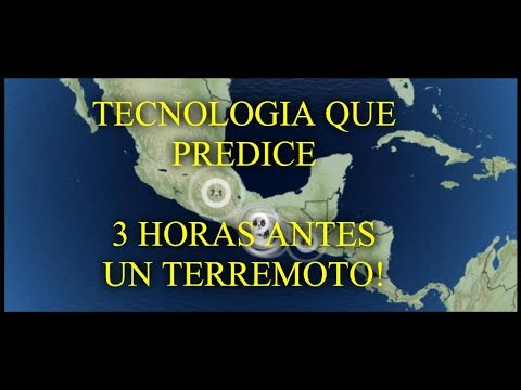 GEOLOGO DESCUBRE TECNOLOGÍA QUE PREDICE TERREMOTOS 3 HORAS ANTES!!
