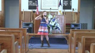 """7 year old Kennedy singing """"That"""
