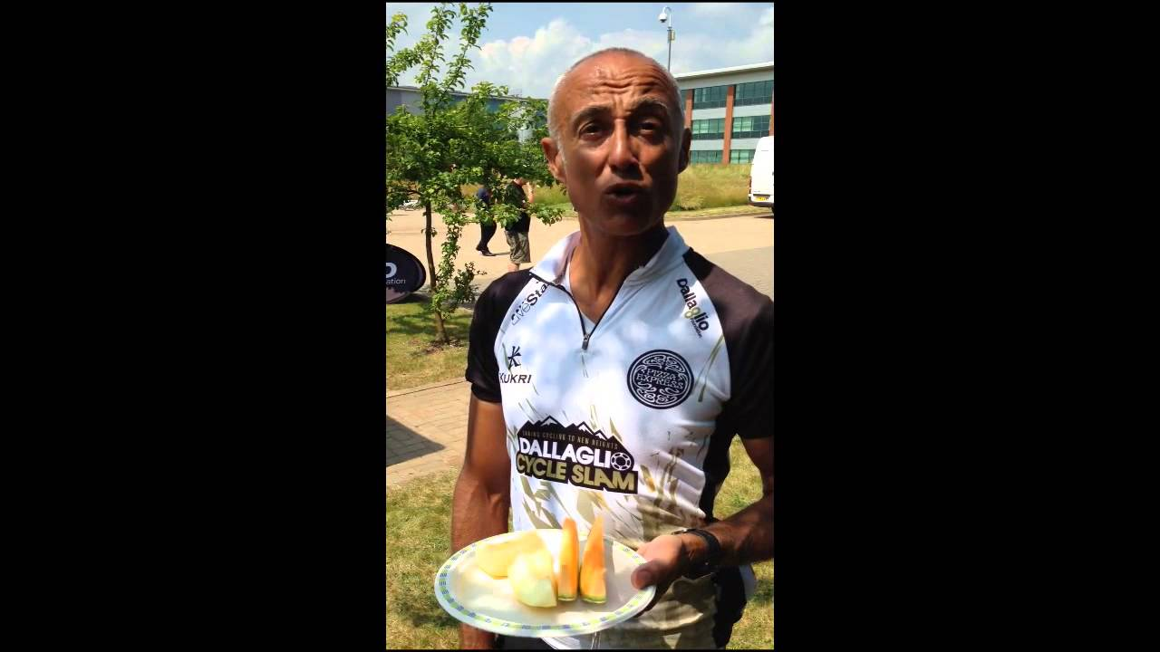 Catermasters Dallaglio Cycle Slam - Andrew Ridgeley - YouTube