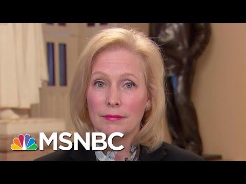 Senator Kirsten Gillibrand Open To Impeaching Atty. Gen. Barr | Hallie Jackson | MSNBC