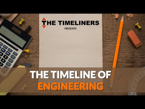 The Timeline Of Engineering | The Timeliners