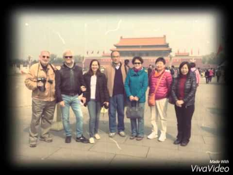 Memory with old WFP colleagues in Beijing