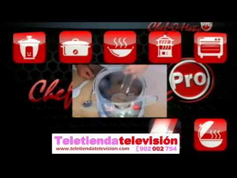 Robot de cocina chef o matic en youtube - Robot cocina chef o matic ...