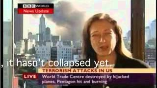bbc reported the collapse of wtc building 7 23 min before it happened oops