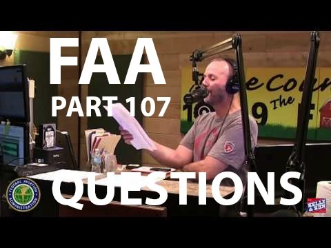 Kelly & Ken Show - FAA Part 107 Sample QUESTIONS