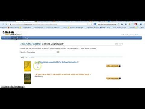 Promote your Book with Kindle Author Central – Publish a Book on Kindle – Amazon KDP