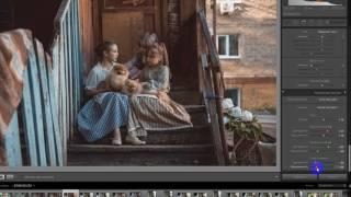 Обработка в Лайтруме фотографий с МК Юлии Сивоконь