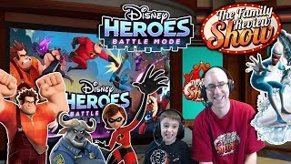 Disney Heroes Battle Mode Review And Gameplay
