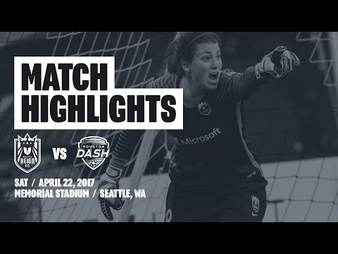 Highlights: Seattle Reign FC vs Houston Dash // April 22, 2017
