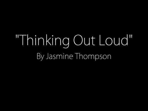 Thinking Out Loud - Jasmine Thompson Cover (Lyrics)