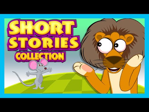SHORT STORY for CHILDREN (13 Moral Stories) | Lion and Mouse Story & more
