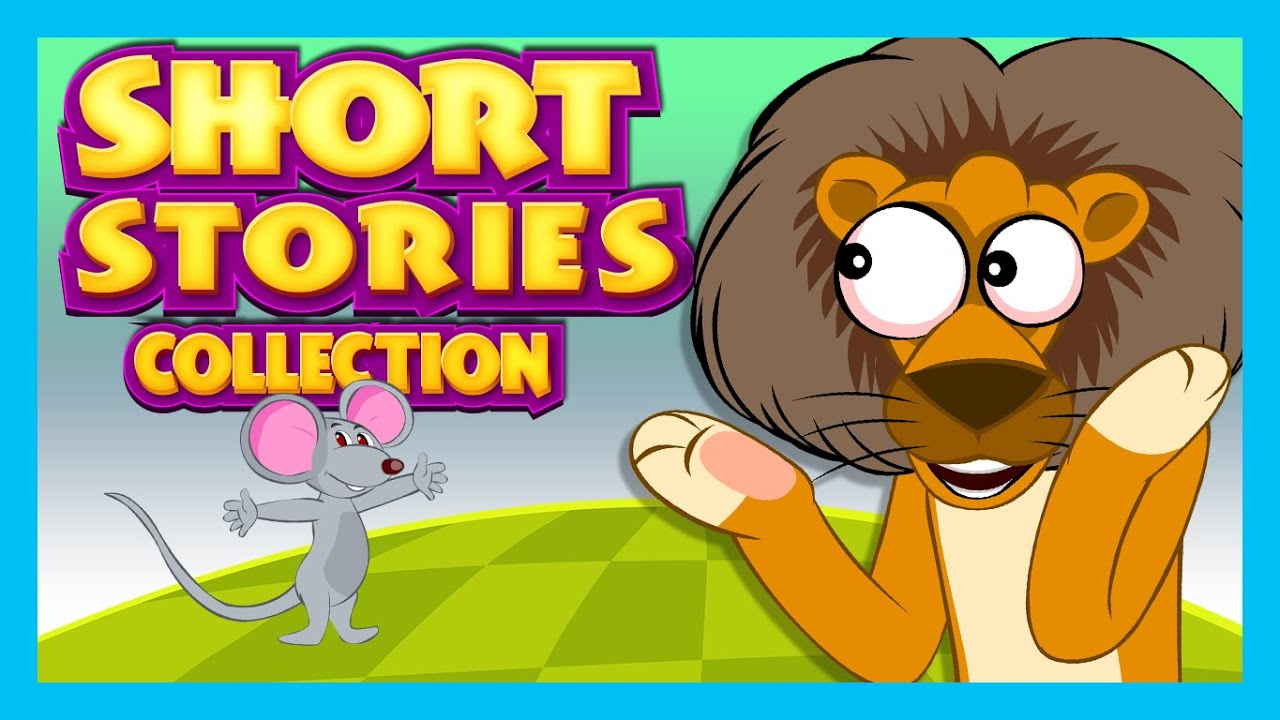 SHORT STORY for CHILDREN | Lion and Mouse Story & More