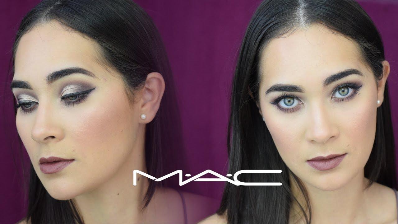 Me Maquillo Con Una Sola Marca Mac Cosmetics Carla Calvo Youtube