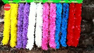 DIY BUNGA GANTUNG DARI KANTONG PLASTIK KRESEK BEKAS | PLASTIC BAG FLOWER HANGING