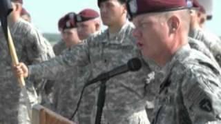 Re-activation of the 1st Battalion, 143rd Infantry Regiment