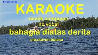Download Video bahagia diatas derita  karaoke no vocal versi keyboard MP3 3GP MP4