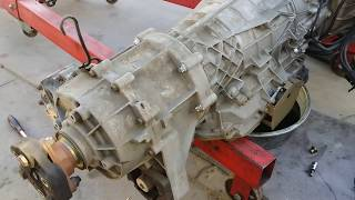 BMW X5 Automatic Transmission Transfer Case Removal